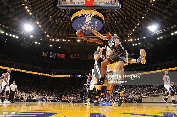 Brandon Rush of the Golden State Warriors shoots the ball against the Sacramento Kings on November 28 2015 at ORACLE Arena in Oakland California NOTE...