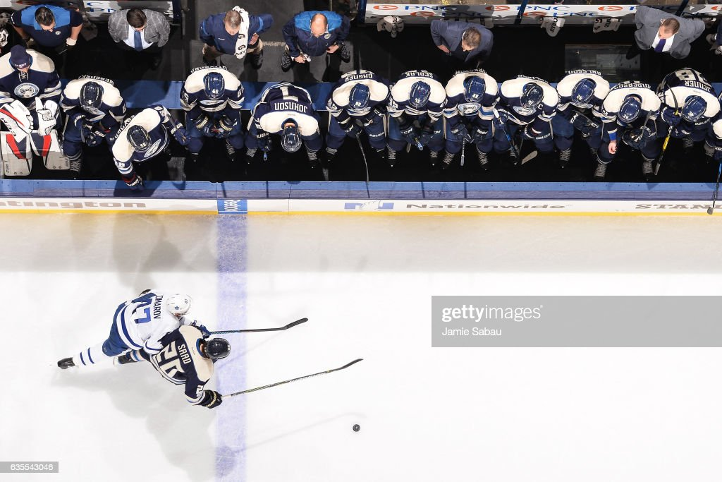 Toronto Maple Leafs v Columbus Blue Jackets Photos and Images ...