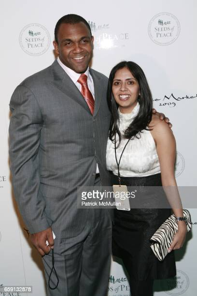 Brandon Short and guest attend Peace Market 2009 For SEEDS OF PEACE Hosted by IVANKA TRUMP at Cipriani Wall Street on February 19 2009 in New York...
