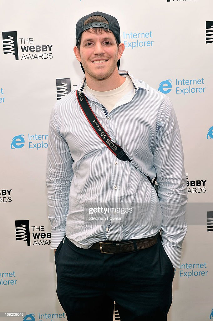 Brandon Stanton attends the 17th Annual Webby Awards at Cipriani Wall Street on May 21, 2013 in New York City.