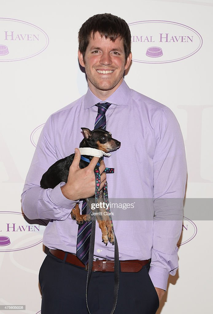 <a gi-track='captionPersonalityLinkClicked' href=/galleries/search?phrase=Brandon+Stanton&family=editorial&specificpeople=10514754 ng-click='$event.stopPropagation()'>Brandon Stanton</a> attends the Animal Haven: Benefit for the Animals at Capitale on June 3, 2015 in New York City.