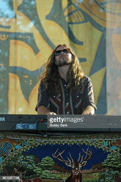 Brandon Still of Blackberry Smoke performs at the 8th Annual Rock Ribs Ridges Festival at Sussex County Fairgrounds on June 25 2017 in Augusta New...