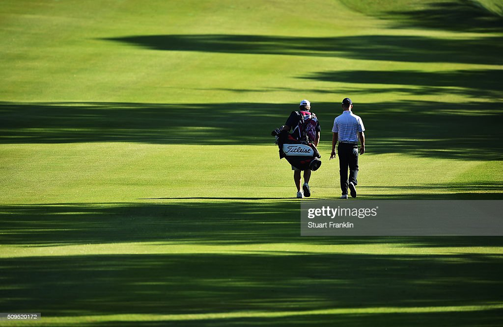 Brandon Stone of South Africa walks down the fairway during the first round of the Tshwane Open at Pretoria Country Club on February 11, 2016 in Pretoria, South Africa.
