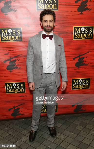 Brandon Uranowitz attends The Opening Night of the New Broadway Production of 'Miss Saigon' at the Broadway Theatre on March 23 2017 in New York City