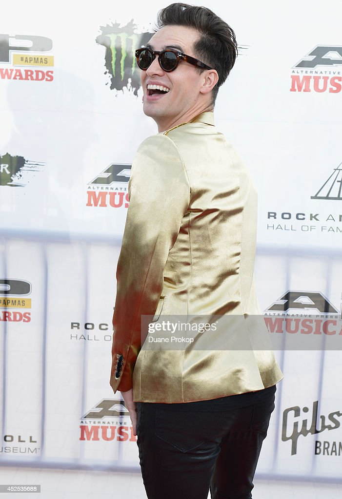 Brandon Urie attends the 2014 Gibson Brands AP Music Awards at the Rock and Roll Hall of Fame and Museum on July 21, 2014 in Cleveland, Ohio.