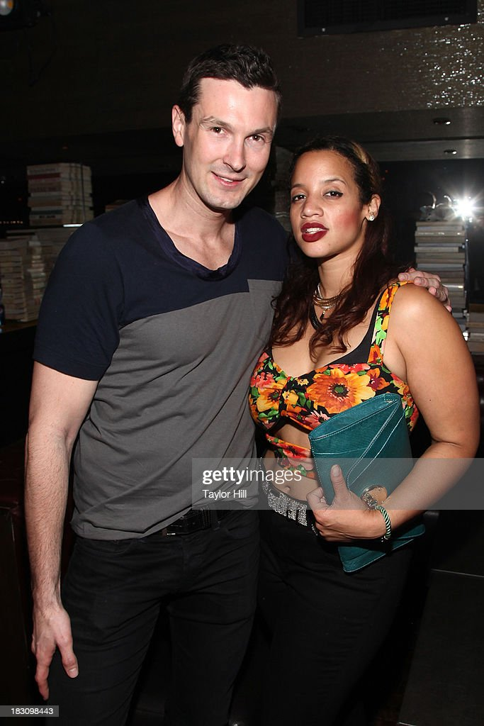 Brandon Voss and <a gi-track='captionPersonalityLinkClicked' href=/galleries/search?phrase=Dascha+Polanco&family=editorial&specificpeople=11068335 ng-click='$event.stopPropagation()'>Dascha Polanco</a> attend Iggy Azalea's 'Change Your Life' EP Release Celebration And Performance at Marquee on October 3, 2013 in New York City.