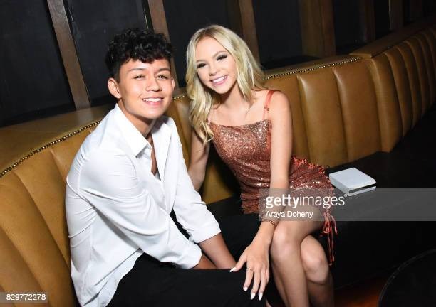 Brandon Westenberg and Jordyn Jones attends Maybelline New York Celebrates First Ever Cobranded Product Collection With Beauty Influencer Shayla...