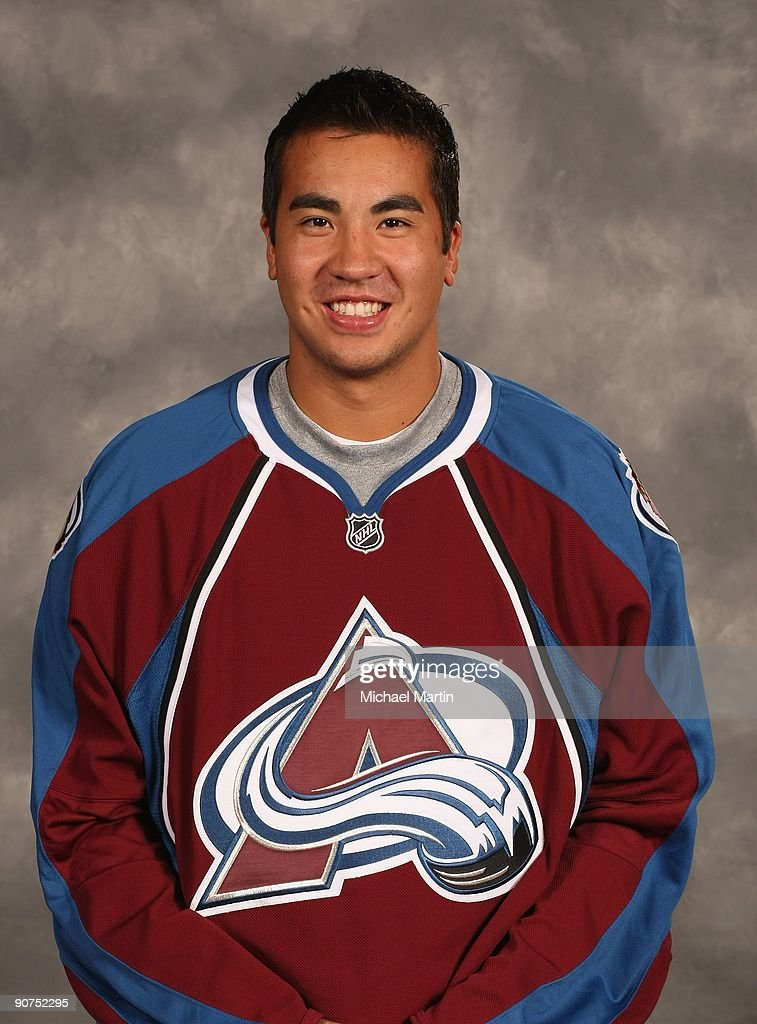 Brandon Yip of the Colorado Avalanche poses for his official headshot for the 20092010 NHL season
