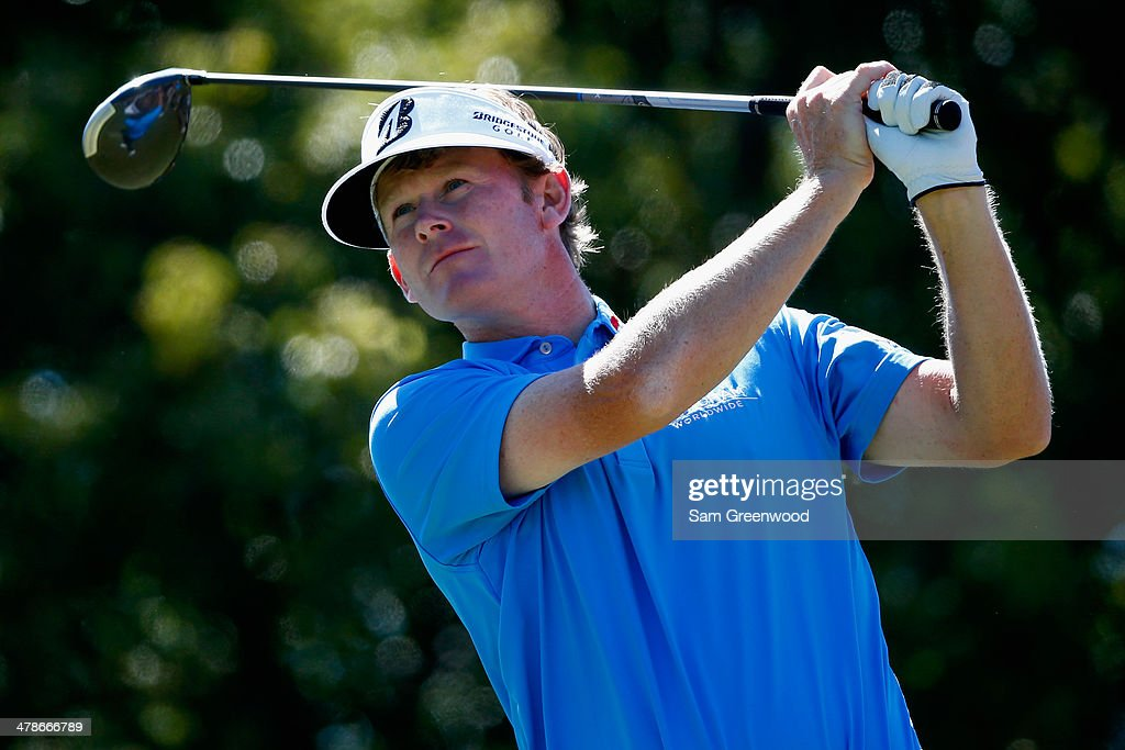 <a gi-track='captionPersonalityLinkClicked' href=/galleries/search?phrase=Brandt+Snedeker&family=editorial&specificpeople=2345049 ng-click='$event.stopPropagation()'>Brandt Snedeker</a> hits a tee shot on the 6th hole during the second round of the Valspar Championship at Innisbrook Resort and Golf Club on March 14, 2014 in Palm Harbor, Florida.