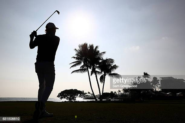 Brandt Snedeker of the United States plays a shot during the ProAm Tounament prior to the Sony Open In Hawaii at Waialae Country Club on January 11...