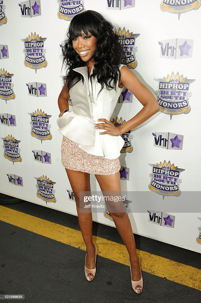 Brandy attends the 2010 Vh1 Hip Hop Honors at Hammerstein Ballroom on June 3 2010 in New York City