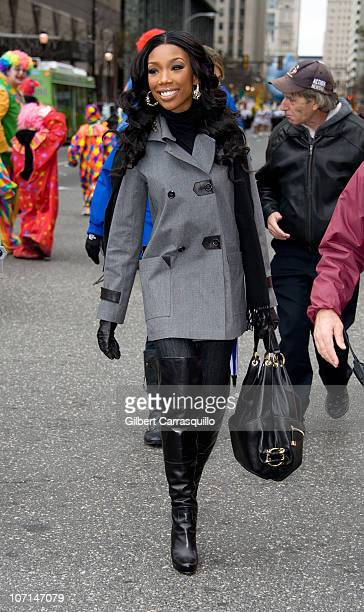 Brandy attends the 91st Annual 6ABC IKEA Thanksgiving Day Parade on November 25 2010 in Philadelphia Pennsylvania