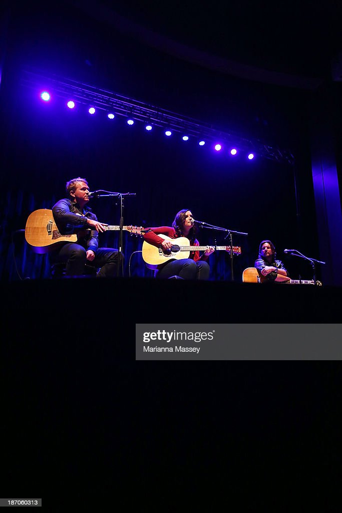 Brandy Clark performs during the 2013 CMA Songwriters Series at the CMA Theater on November 5, 2013 in Nashville, Tennessee.