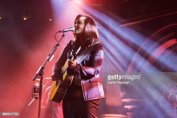Brandy Clark performs live on stage at the Union Chapel on October 23 2017 in London England