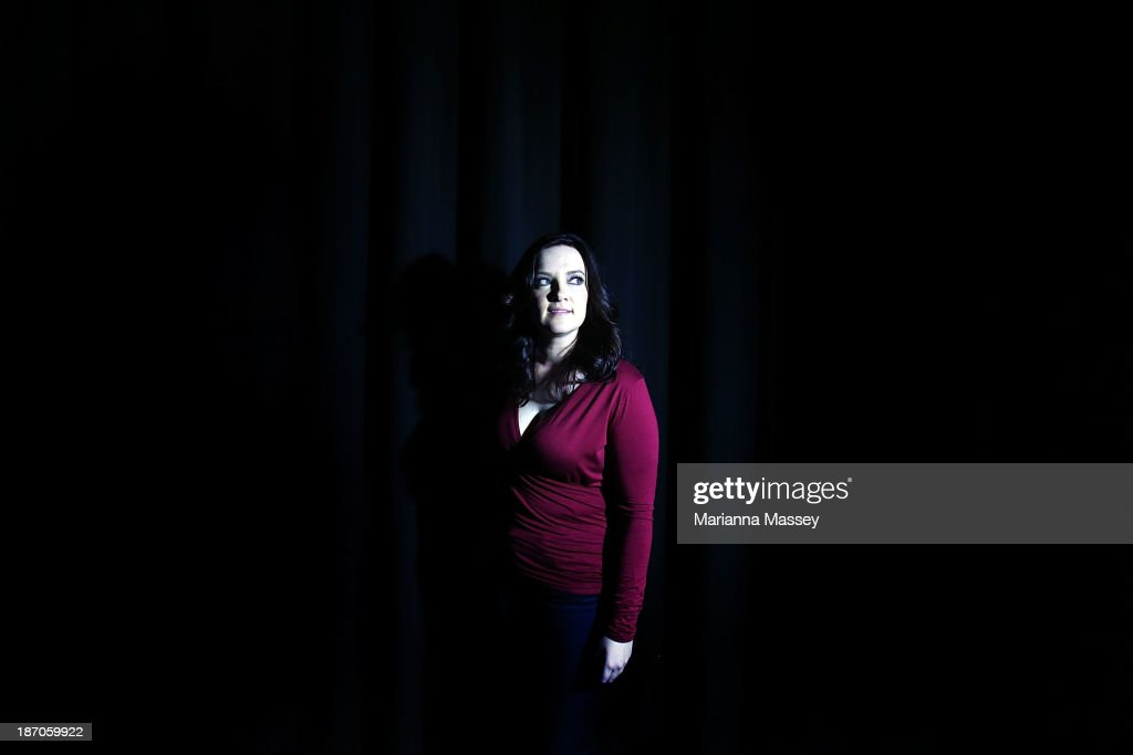 Brandy Clark poses for a portrait before she performs during the 2013 CMA Songwriters Series at the CMA Theater on November 5, 2013 in Nashville, Tennessee.
