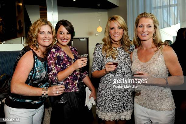Brandy Lau Danielle Lopez Lori Good and Carrie Bailey attend Screenvision Hosts Sex and the City 2 Screening at ArcLight Cinemas on May 26 2010 in...