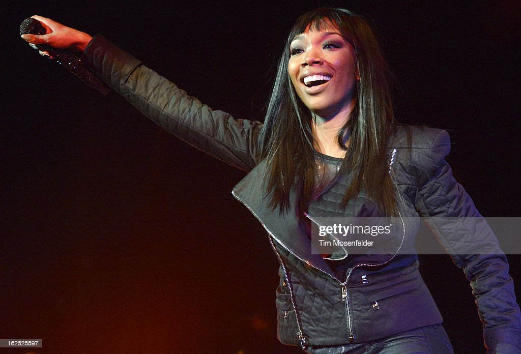 <a gi-track='captionPersonalityLinkClicked' href=/galleries/search?phrase=Brandy+Norwood&family=editorial&specificpeople=202122 ng-click='$event.stopPropagation()'>Brandy Norwood</a> aka Brandy performs in support the her Two Eleven release at The Paramount Theatre on February 23, 2013 in Oakland, California.