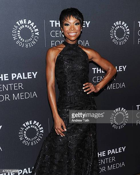Brandy Norwood attends A Tribute To AfricanAmerican Achievements In Television hosted by The Paley Center For Media at Cipriani Wall Street on May 13...