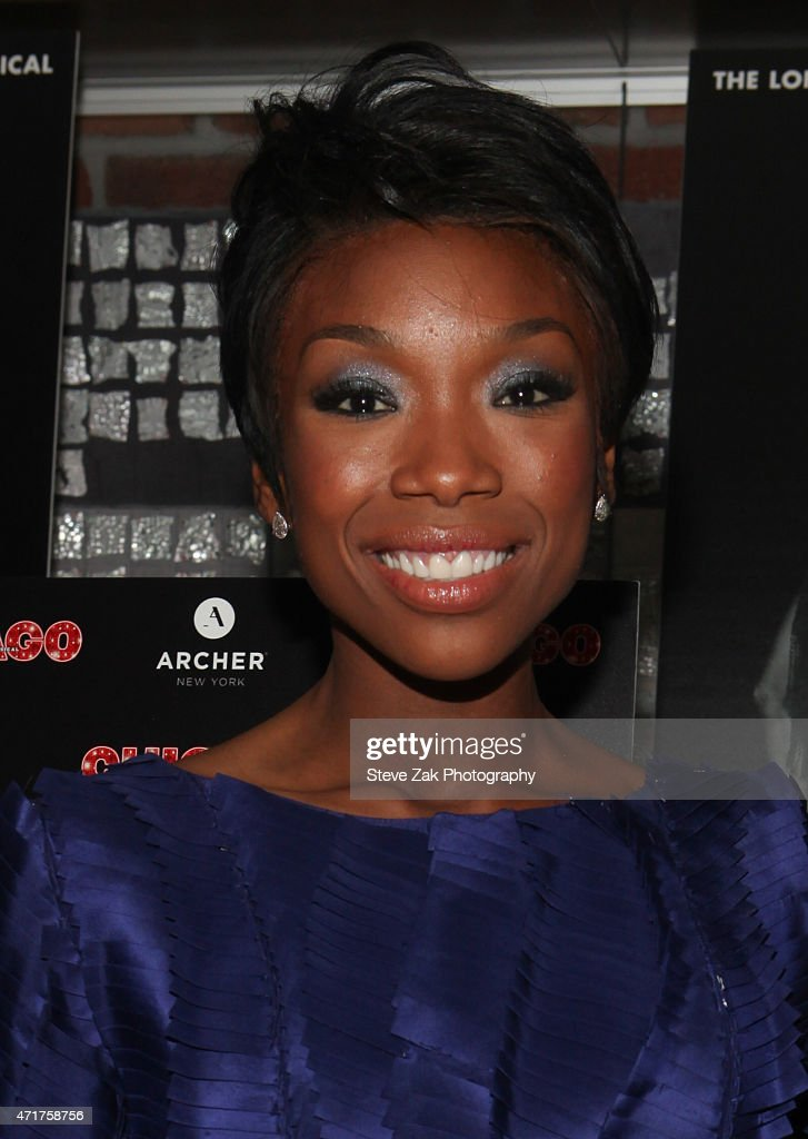 "Brandy Norwood's Debut Performance In Broadway's ""Chicago"" - After Party"