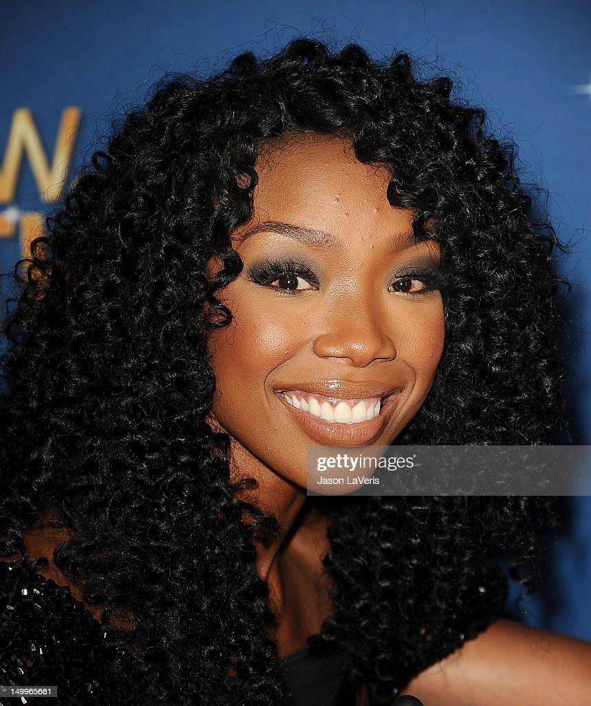 Brandy Norwood attends the MDA Labor Day Telethon at CBS Studios on August 7, 2012 in Los Angeles, California.