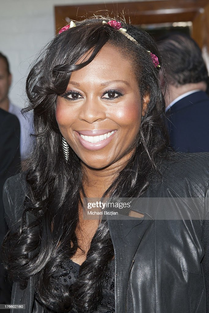 Brandy Tucker attends 9th Annual HollyShorts Film Festival - Private Pre-Reception at Hollywood Roosevelt Hotel on August 15, 2013 in Hollywood, California.