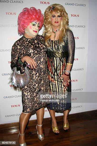 Brandy Wine and Brenda A GoGo attend GRAND CLASSICS Incident at Oglala Screening Hosted by Vivienne Westwood Sponsored by Tous at SOHO House on...