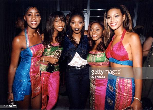 Brandy with Destinys Child at...