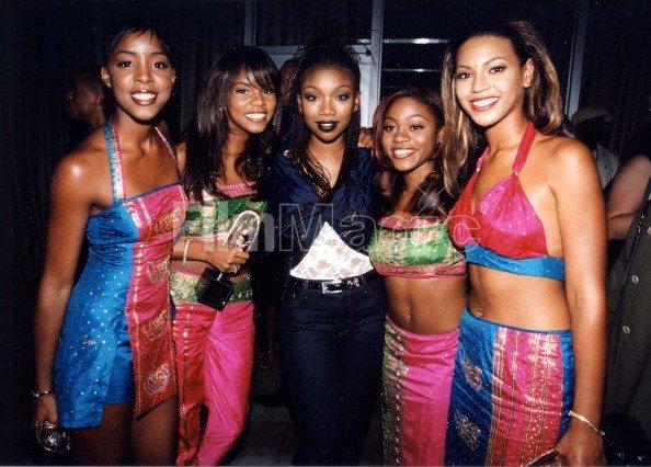 Brandy with Destinys Child at...