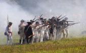 Brandywine Creek State Park Colonial reenactment of the historic Battle Of Brandywine