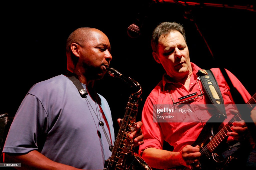 <a gi-track='captionPersonalityLinkClicked' href=/galleries/search?phrase=Branford+Marsalis&family=editorial&specificpeople=212811 ng-click='$event.stopPropagation()'>Branford Marsalis</a> and Chris Mulkey during Dennis Quaid's Starry, Starry Night Party & Auction 39 at Austin Film Studios in Austin, Texas, United States.