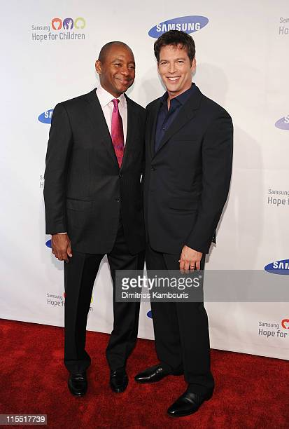 Branford Marsalis and Harry Connick Jrattend Samsung Hope for Children Gala at Cipriani Wall Street on June 7 2011 in New York City