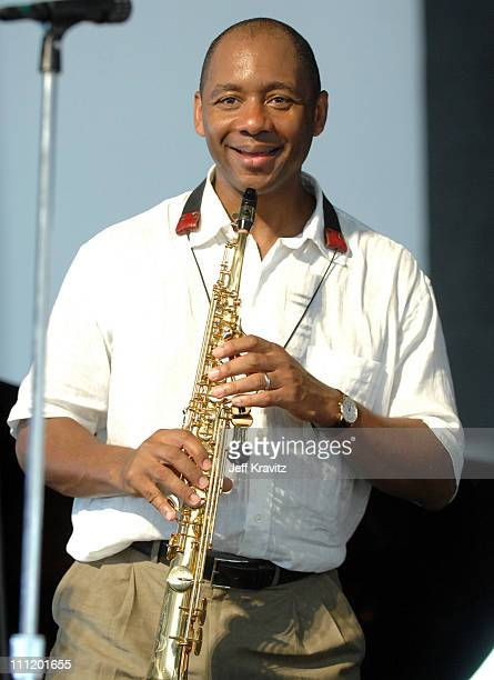 Branford Marsalis during 38th Annual New Orleans Jazz Heritage Festival Presented by Shell Marsalis Music Honors Alvin Bastiste and Bob French at New...