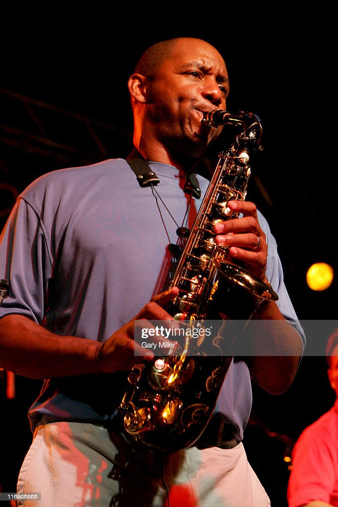 Branford Marsalis during Dennis Quaid's Starry Starry Night Party Auction 39 at Austin Film Studios in Austin Texas United States