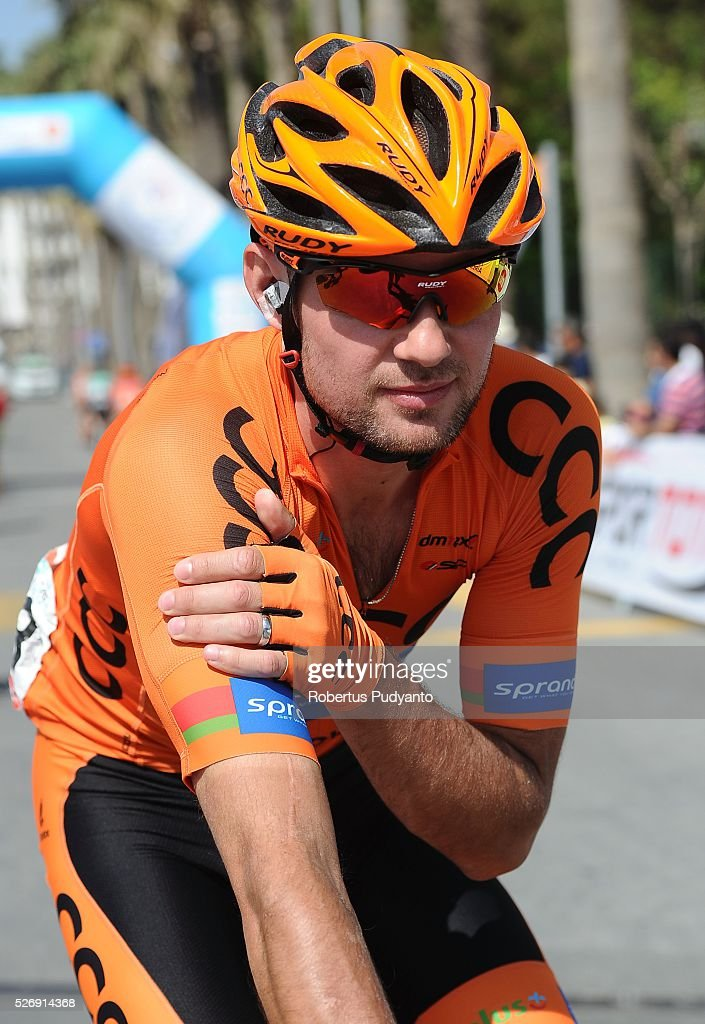 Branislau Samoilau of CCC Sprandi Polkowice warms up during Stage 8 of the 2016 Tour of Turkey, Marmaris to Selcuk (201.5 km) on May 1, 2016 in Marmaris, Turkey.