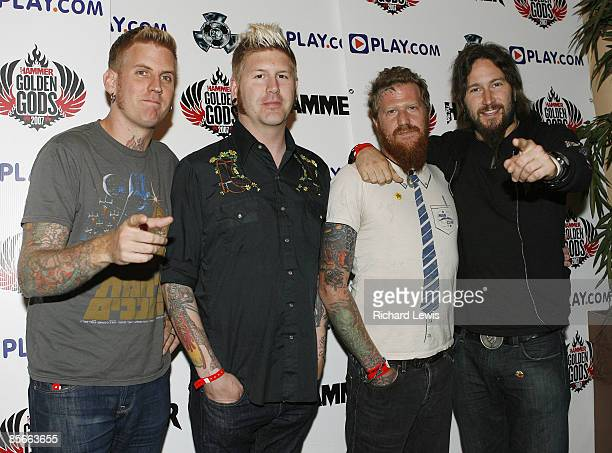 Brann Dailor Bill Kelliher Brent Hinds and Troy Sanders of Mastodon
