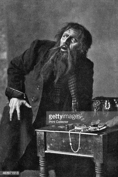 Bransby Williams actor 19111912 Seen here as Fagin from Charles Dickens' Oliver Twist From Penrose's Pictorial Annual 19111912 The Process Year Book...