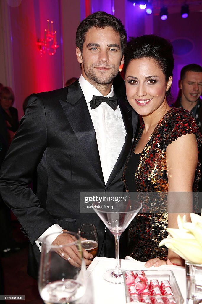 <a gi-track='captionPersonalityLinkClicked' href=/galleries/search?phrase=Brant+Daugherty&family=editorial&specificpeople=7313465 ng-click='$event.stopPropagation()'>Brant Daugherty</a> and Nina Moghaddam attend the Barbara Tag 2012 on December 04, 2012 in Munich, Germany.
