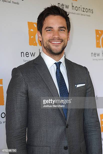 Brant Daugherty arrives at New Horizons 'Havana Nights' 2015 Gala Fundraiser at Los Calamigos Ranch on April 18 2015 in Burbank California