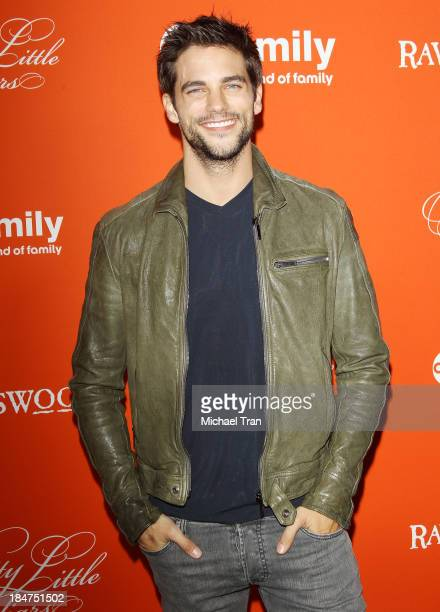 Brant Daugherty arrives at the 'Pretty Little Liars' celebrates Halloween episode held at Hollywood Forever on October 15 2013 in Hollywood California