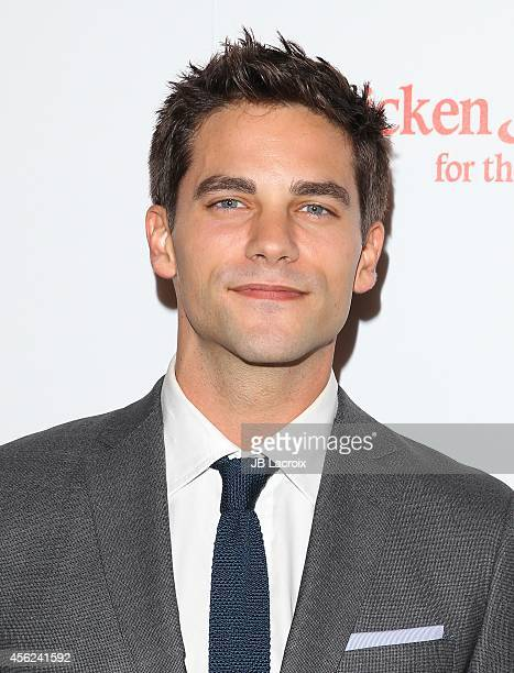 Brant Daugherty attends the 4th Annual American Humane Association Hero Dog Awards hosted by Beth Stern on September 26 in Beverly Hills California