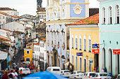 Brasil, Bahia, Salvador de Bahia Pelourinho historic district