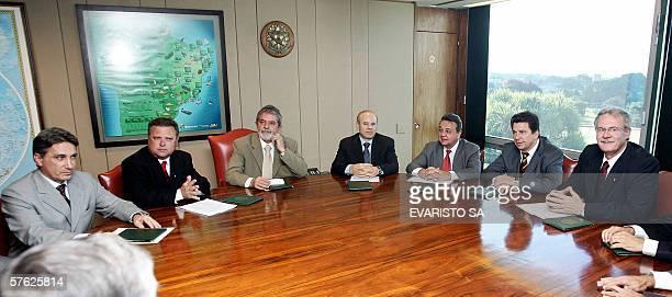 Rio Grande do Sul state Governor Germano Rigotto Mato Grosso state Governor Blairo Maggi Brazilian President Luiz Inacio Lula da Silva Minister of...