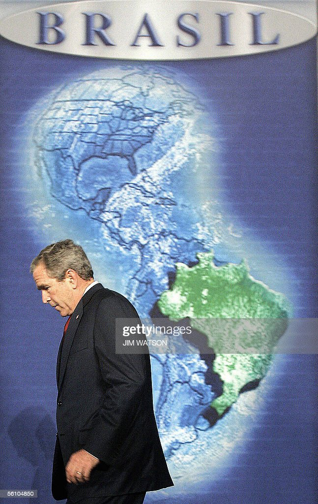 Photos Et Images De US President Bush Meets With Brazilian - Us president tree map