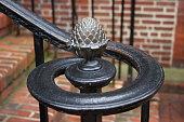 Brass Artichoke Finial in Downtown Annapolis