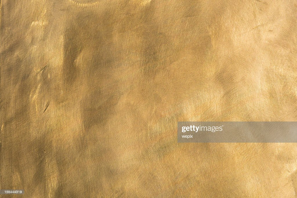 Brass background brown golden copper metal plate XXL : Stock Photo