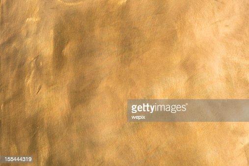 Brass background brown golden copper metal plate XXL