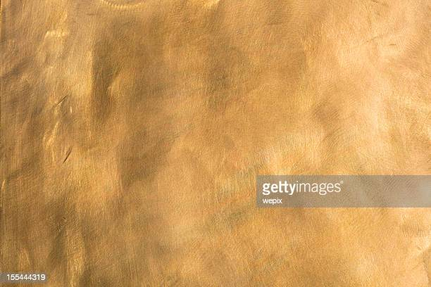 Brass background brown golden copper metal plate XXL