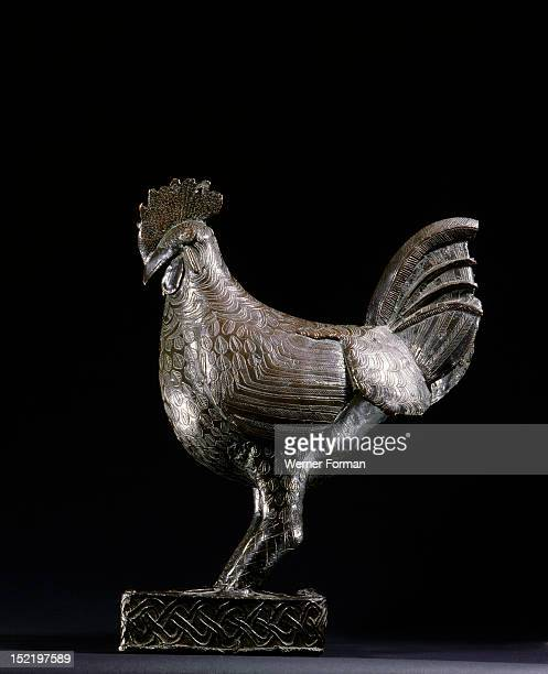 Brass cock probably used to decorate a shrine at the court of the Queen Mother in Benin The Queen Mother maintained a separate palace and exercised...