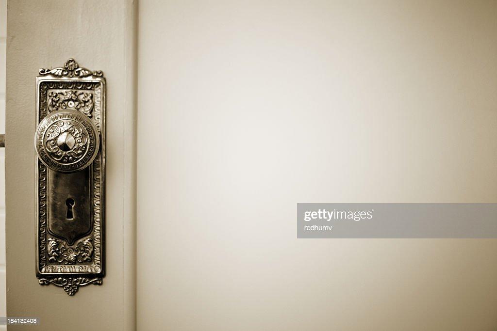 Brass Vintage Door Knob : Stock Photo