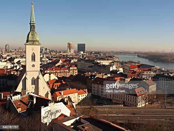 Bratislava cityscape